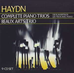 [AMAZON.CO.UK Marketplace] Beaux Arts Trio - Haydn: Complete Piano Trios 9x CD Box  für 15 Euro (statt 30 Euro)