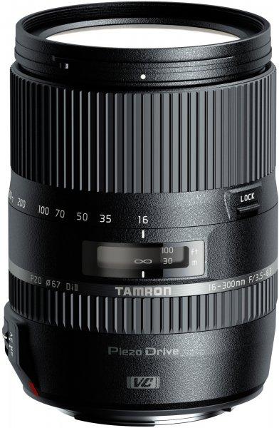 TAMRON AF 16-300mm F/3.5-6.3 für Canon, Nikon und Sony für 499€ (bei Abholung, sonst 503,99€)
