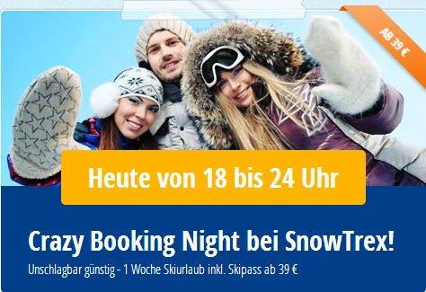 1 Woche Skiurlaub inklusive Skipass ab 39 €