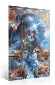 74% Rabatt, Star Wars - 20th ANNIVERSARY Collage Collectable Bild auf Acrylglas + Aluminium Verbundplatte