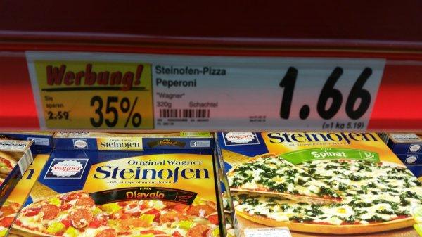 Wagner Steinofen-Pizza (Kaufland)