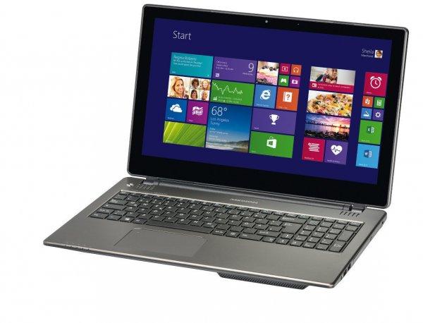 """MEDION AKOYA Touch Notebook 15,6"""" Intel N2920 CPU, 500GB, 4GB - 229,- € inkl. Versand / B-Ware mit 12Monate Gewährleistung Ebay WOW Angebot"""