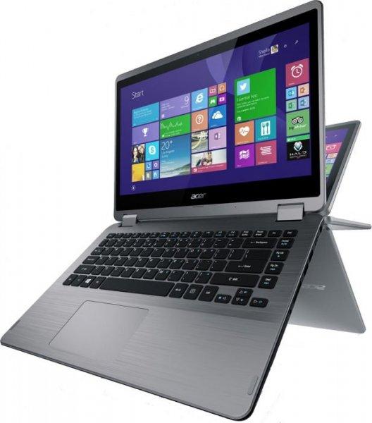 """Acer Aspire R3 - 14"""" Multi-Touch-Convertible, i5-5200U, 4GB RAM, NVIDIA 820M, Win 8.1 - 583,95€ - ZackZack.de"""