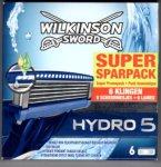 [Rossman und DM - offline] Wilkinson Hydro 5 Rasierklingen - 6er Pack für 4,95 €