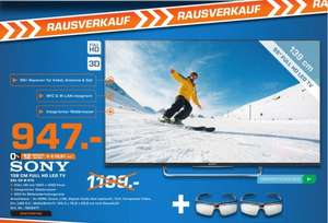 [Lokal Saturn Münster] SONY KDL-55W815 BSAE 2 55 Zoll Full HD Smart TV silber, Motionflow XR 600Hz, WLAN, X-Reality PRO, 3Dfür 947.-€