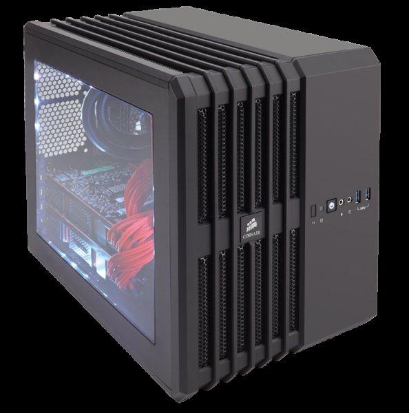 Corsair Carbide Air 240 (mATX/ITX-PC-Gehäuse - wahlweise weiß oder schwarz) - 64,85€ @ Zackzack