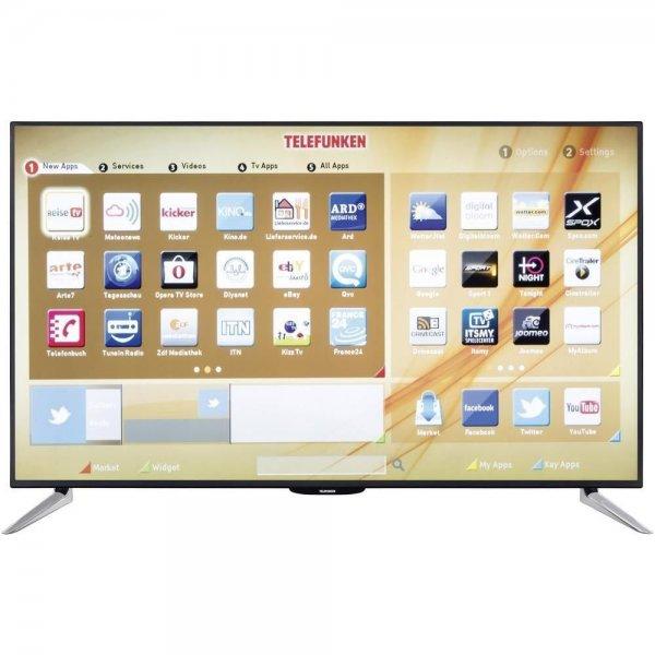 Telefunken L55F243A3C LED-TV 400 Hz CMP, 140 cm (55 Zoll), WiFi, LAN,DLAN, Hbb TV @ ebay [B-Ware]