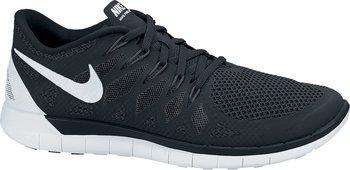 Nike Free 5.0 Laufschuh Schwarz/Weiß