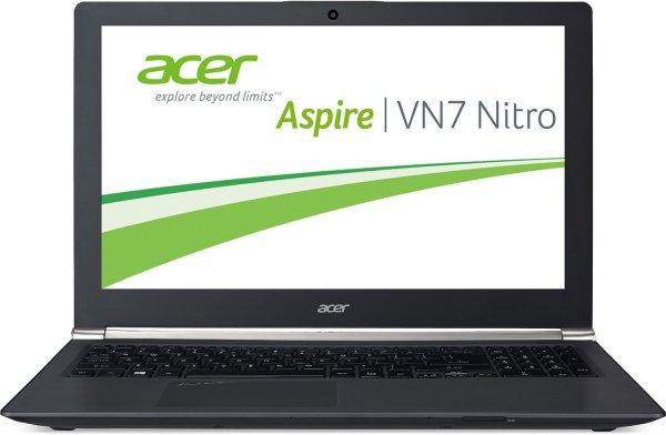 "[WHD] ""gebraucht - sehr gut"" Acer Aspire Black Edition VN7-791G-759Q 43,9 cm (17,3 Zoll) Notebook (Intel Core i7-4710HQ, 2,5GHz, 8GB RAM, 128GB SSD + 1TB HDD, Nvidia GeForce GTX 860M, Blu-ray, Win 8.1, Full-HD IPS Display) schwarz"