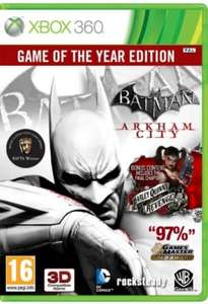 Batman: Arkham City - Game of the Year Edition (Xbox 360) für 7,95€ @Coolshop