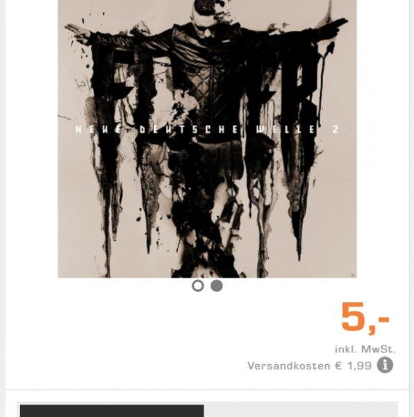 Fler Neue Deutsche Welle 2  CD Premium Edition (Saturn Online)