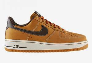 [Nike.de] Nike Air Force 1 (wheat) für € 70 (+7% Qipu Cashback)