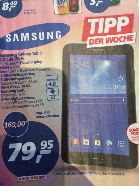 Samsung Galaxy Tab 3,7.0 Lite Wi-Fi bei Real, Schwarz, 8GB