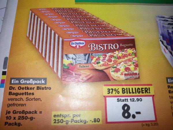 Bistro Baquette - versch. Sorten - 80ct - 37% sparen
