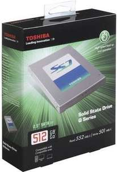[LOKAL] 512GB SSD TOSHIBA HDTS251EZSTA Q-Series - 220 Euro