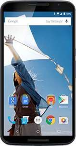 Nexus 6 (6 Zoll, 32GB interner Speicher, Android 5.0 Lollipop) in Blau für 532,12 Euro @Amazon.fr