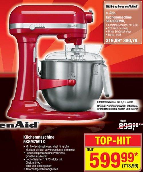 Kitchenaid 5KSM7591X für 713,99 € @ Metro (idealo 799 €)