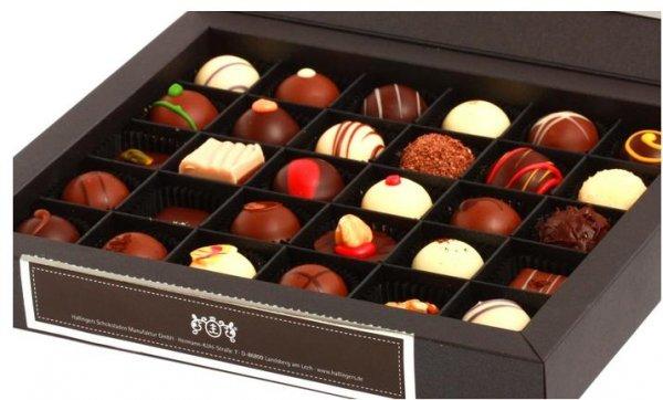 [Groupon.de] Wertgutschein über 20 oder 30€ anrechenbar auf Schokolade und Tee in Hallingers Schokoladen Manufaktur ab 10€