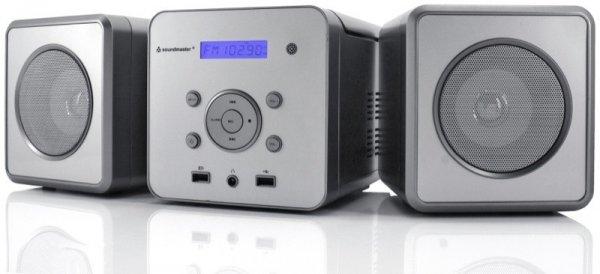 Soundmaster CD/MP3/Bluetooth Mini-Stereo-Anlage MCD380BT