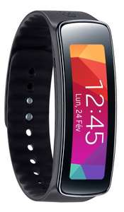 Samsung Gear Fit Smart­watch - Schwarz inkl. Vsk für 104,77 € > [amazon.fr]