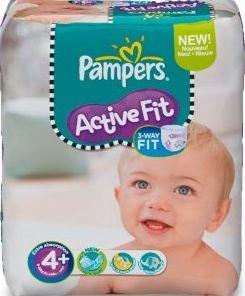 nur noch heute Pampers @ Real zB. ActiveFit 4+ je Windel 22.8 Cent / BabyDry 4+ je Windel 14.9 Cent + 10Fach Payback Punkte auf Babyartikeln  (Vergleichspreis 0.28€ bzw 0.19€)