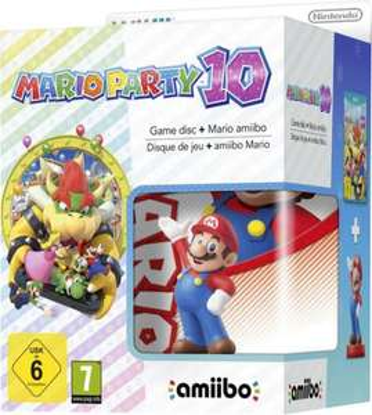 [voelkner.de] Mario Party 10 (WiiU Wii U) mit Mario Amiibo für 39,99€ (Vorbestellung, Angebot nur heute gültig)