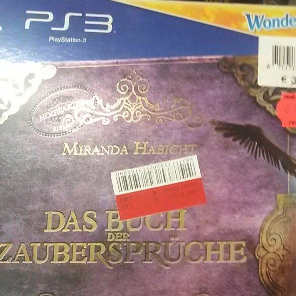 [Lokal Real Alzey] Wonderbook: Das Buch der Zaubersprüche (PS3)