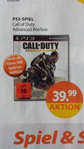 [Lokal,Deutschlandweit?Online?] MÜLLER Call of Duty Advanced Warfare PS3 & XBOX360: 39,99€