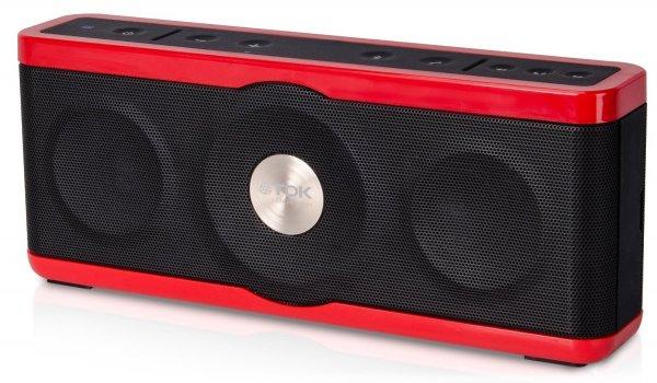 TDK A34 Trek Max Bluetooth Lautsprecher Rot