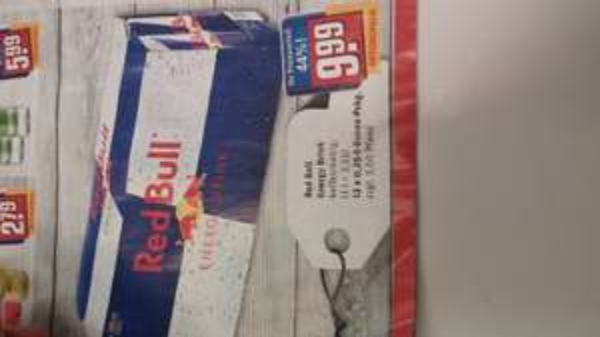 12 Red Bull für 9,99€ bei REWE City