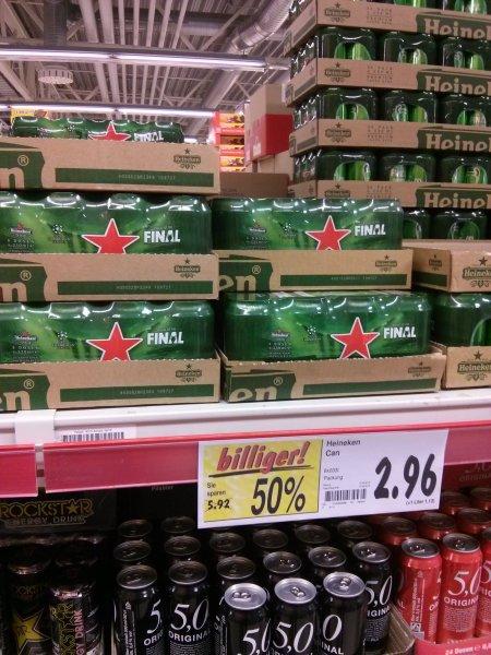 [Lokal Rostock] Kaufland - Heineken 8 x 0,33l für 2,96€