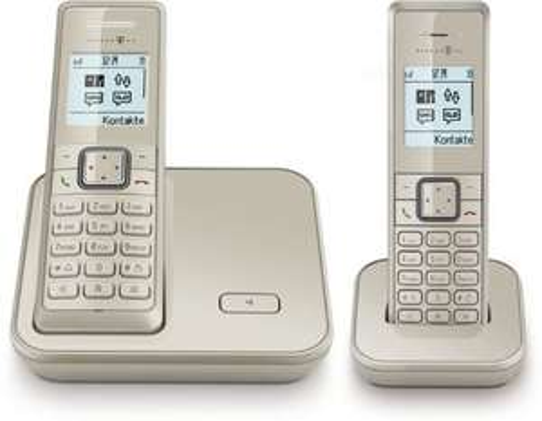 [3% Qipu]  Schnurloses Telefon Telekom Sinus 206 mit AB als Duo für 34,99€ oder Trio für 59,99€ frei Haus @DC
