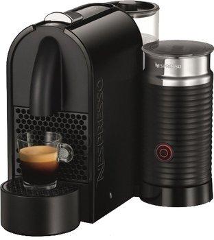 [Saturn Super Sunday]DeLonghi EN210.BAE schwarz U Milk Nespresso-Automat mit Milchaufschäumer EN210.BAE für 119,- VSK Frei