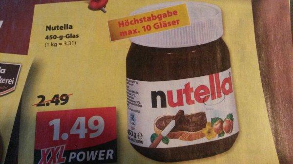 [lokal Famila Wechloy] Nutella leider doppelt