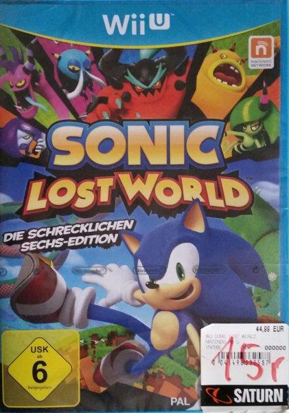 Lokal Saturn Wiesbaden SONIC LostWorld Wii U 14,97Euro