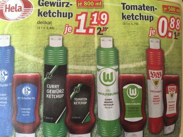 [Zimmermann] Hela Gewürzketchup Delikat 1,19€ oder Tomatenketchup 0,88€