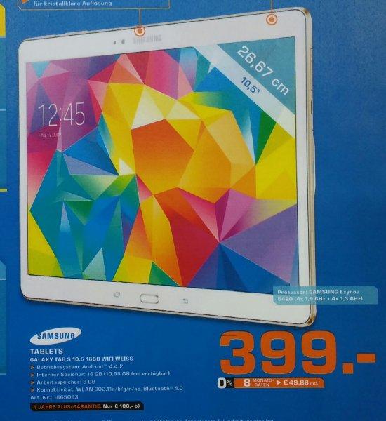 [Saturn Düsseldorf Königsalle] Samsung Galaxy Tab S