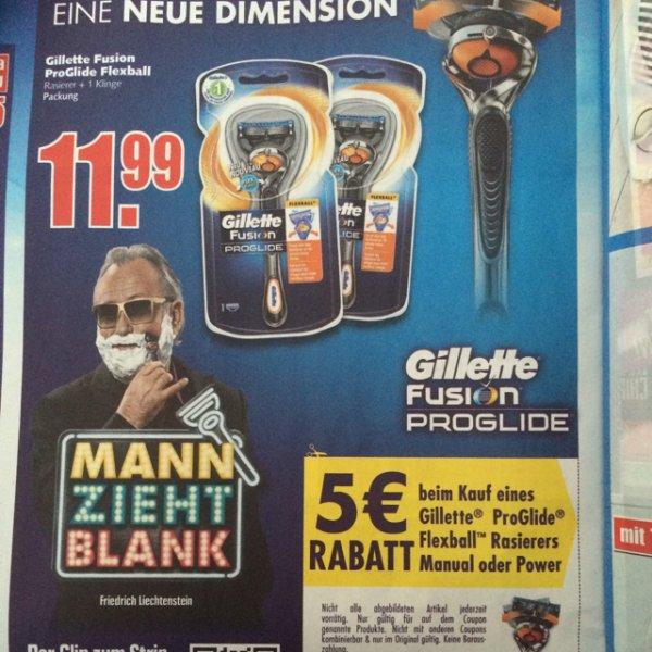 Gillette Fusion ProGlide Flexball
