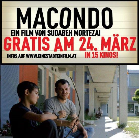 """[Lokal Wien] Am 24.März läuft in 16 Wiener Kinos der Film """"Macondo"""" - Eintritt frei!"""