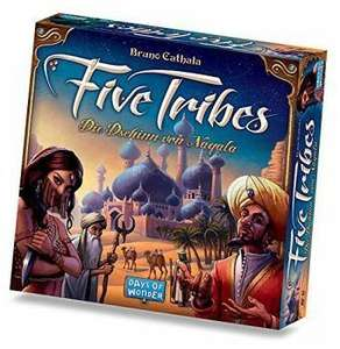 [Bücher.de] Five Tribes/Strategiespiel mit Gutschein nur 40,95
