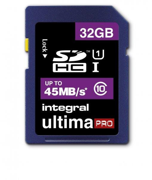 Integral SDHC UltimaPro 32GB Class 10 für 11,99€ @ Amazon (Mymemory)
