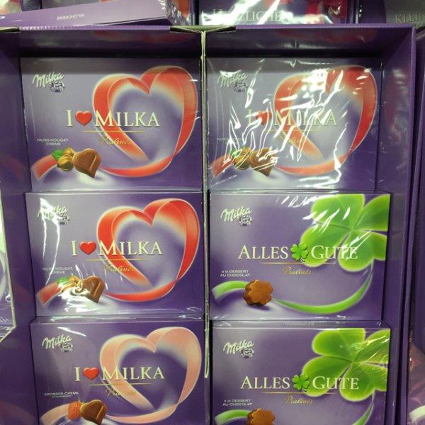 (Kaufland) i Love Milka Pralinés Herzen