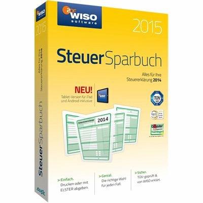 WISO Steuer-Sparbuch 2015 (Download für PC) für 19,99 Euro
