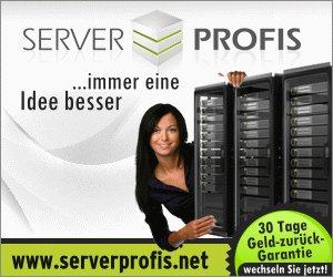 serverprofis.de - 50% auf Webhosting & Domains günstiger - ab 0,75€ pro Monat