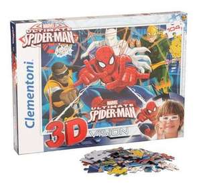 Spiderman - 3D Puzzle - 104 Teile, ca. 33 x 23 cm für 2,99€ inkl. Versand @KIK