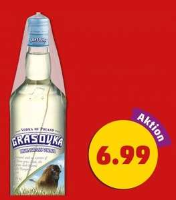 GRASOVKA Vodka bei Penny für 6,99€