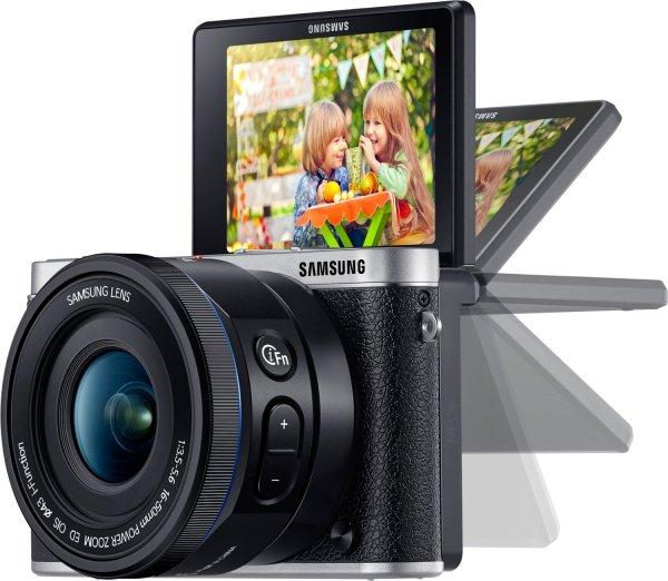 [Amazon.it] Samsung NX3000 schwarz + 16-50mm +  SEF-8A (Aufsteckblitz) für 220,52€ incl.Versand nach Deutschland!