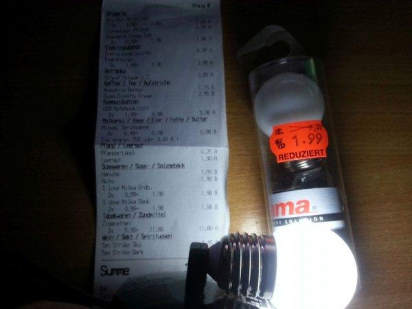 [KAUFLAND] Hama USB Notebooklicht (LED-Lampe) im Glühbirnen Design für 1,99€ statt 7,99€