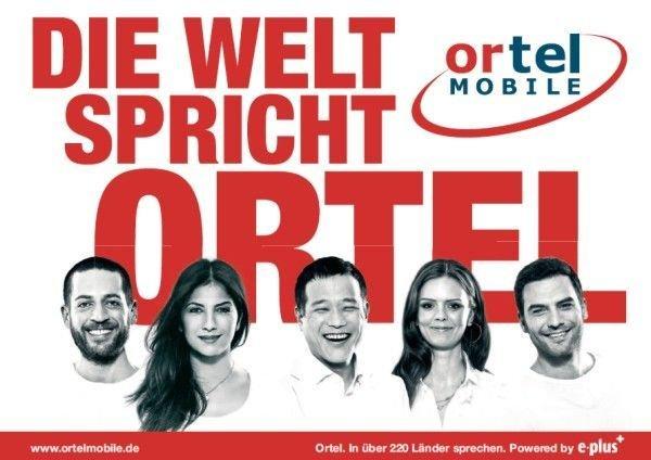 [Lokal Frankfurt] Ortel mobile Prepaid-Sim mit 7,50€ Guthaben für 5€