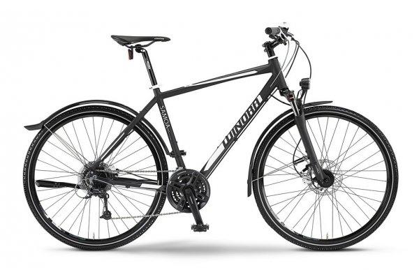 WINORA Samoa schwarz/weiß/grau TREKKINGRAD / CROSSRAD für 420€ zzgl. 35€ Versand @jehlebikes